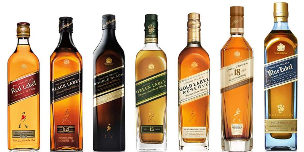 Johnny Walker Whisky Prices Guide 2019 - Wine and Liquor Prices