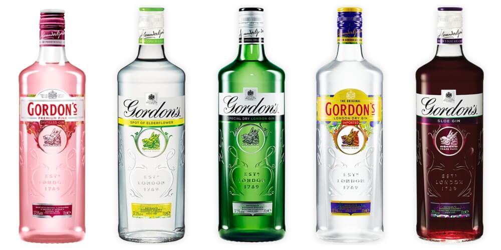 Gordon's Gin Prices Guide
