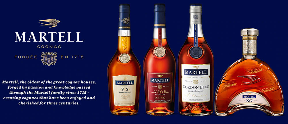 Martell Cognac Prices Guide
