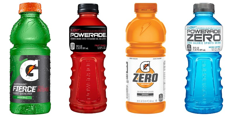Which sport drink is better gatorade or powerade single game sports betting